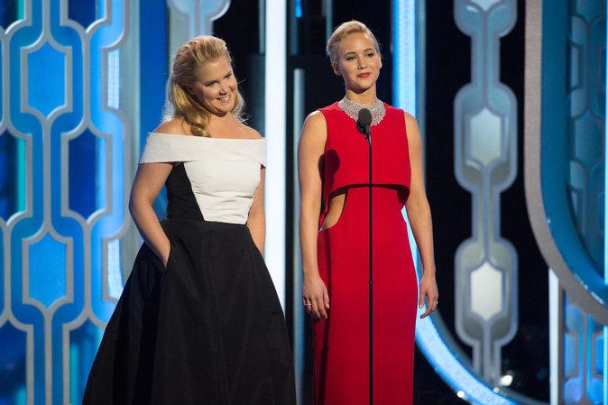 Amy Schumer et Jennifer Lawrence se sont bien trouvées