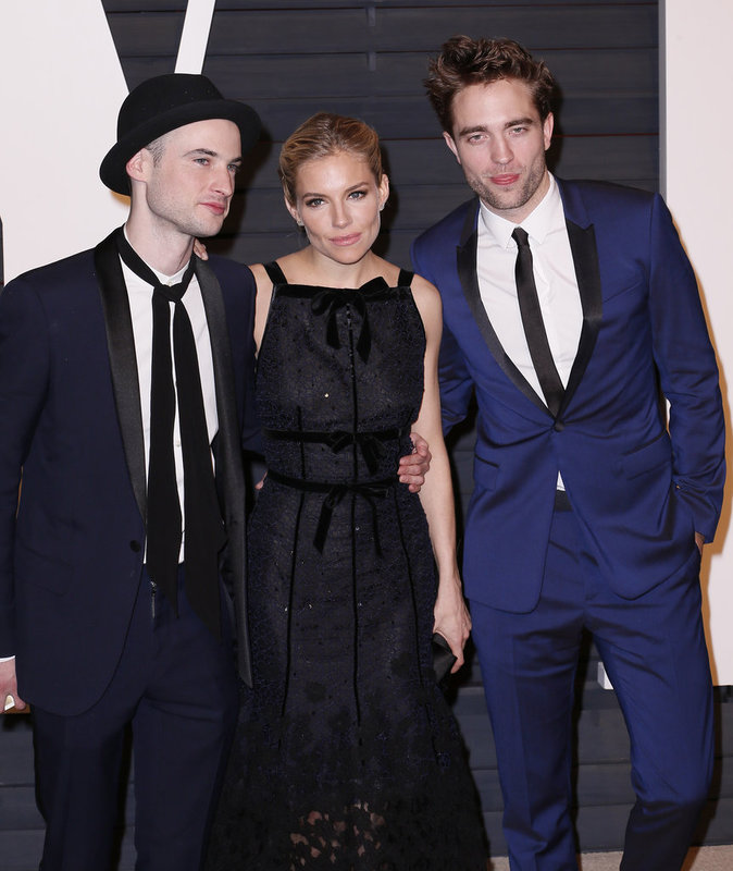 Les acteurs Tom Sturridge et Robert Pattinson