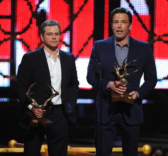 Matt Damon & Ben Affleck, amis depuis l'enfance
