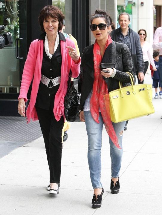 Kim Kardashian et sa grand-mère
