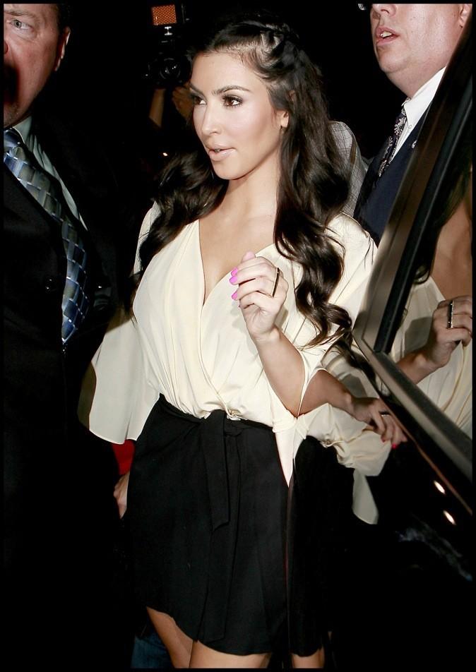 Kim Kardashian perd ses cheveux