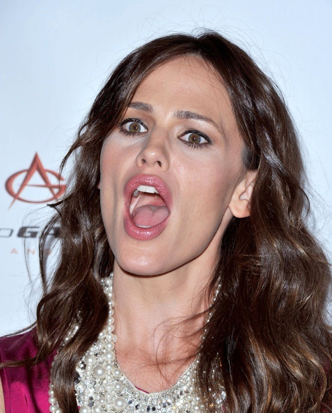 Jennifer Garner a une bouche énorme !