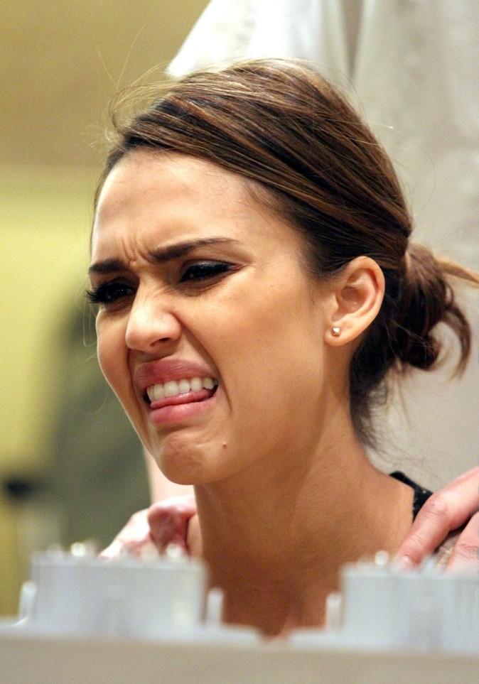 Jessica Alba : beurk !