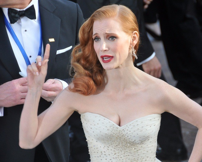 Jessica Chastain à Cannes !