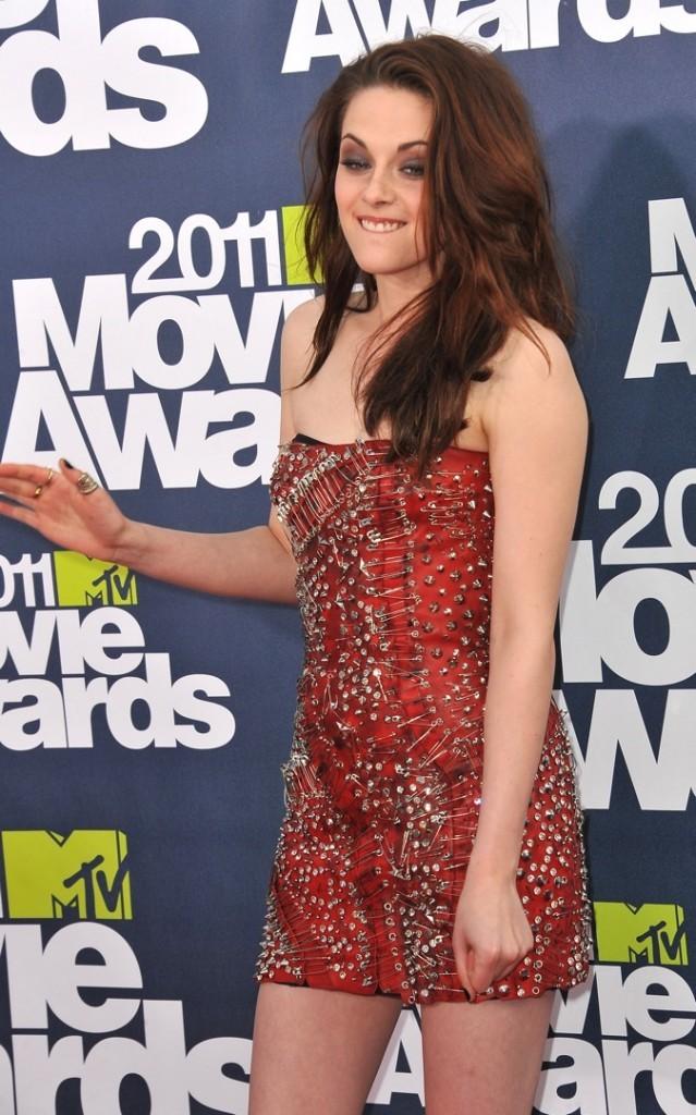 Kristen Stewart lors des MTV Movie Awards !