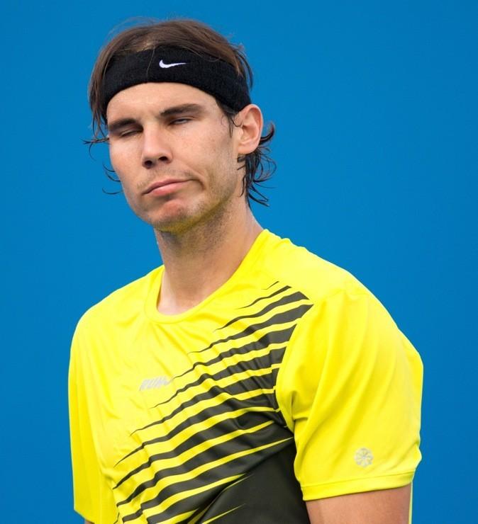 Rafael Nadal pas fier de lui !