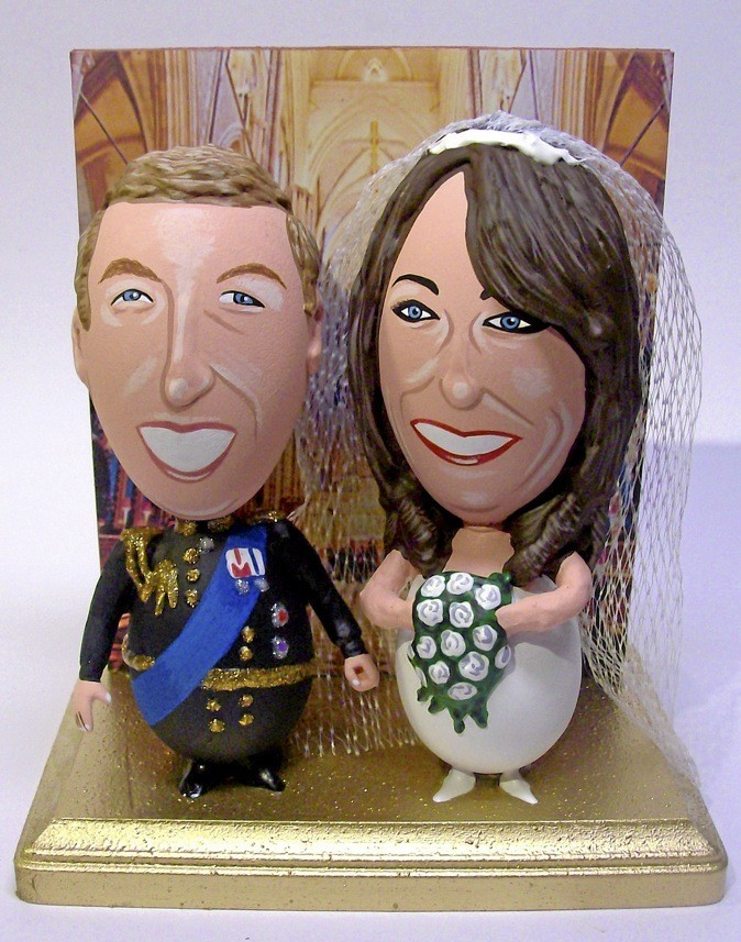 Des yeux peints en hommage à Kate Middleton & prince William