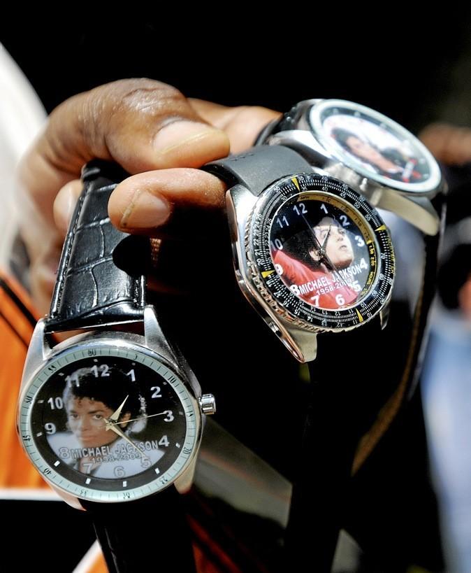 Les montres Michael Jackson