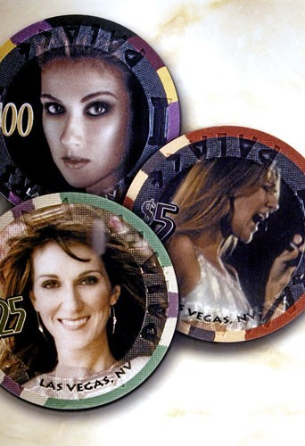 La gamme de jetons Céline Dion