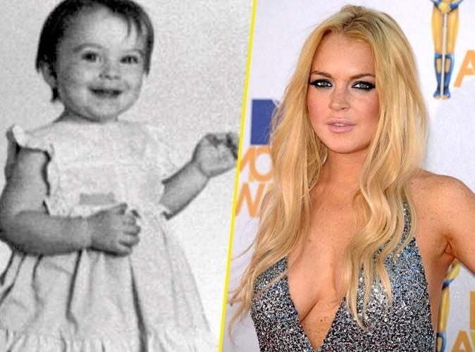 Photos star bébé : une jolie robe qui tourne pour Lindsay Lohan