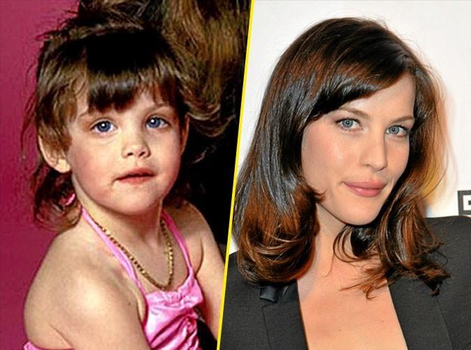 Photos stars bébé : la gueule d'ange de Liv Tyler !