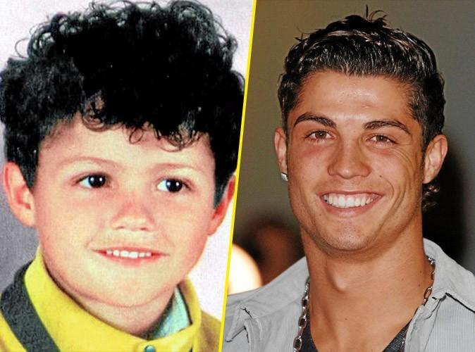 Photos stars bébé : le sourire de Cristiano Ronaldo !