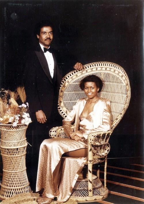 Michelle Obama: First boyfriend