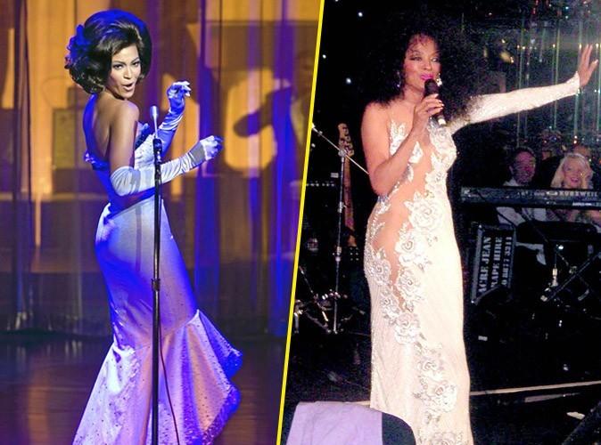 Photos : Beyoncé Knowles dans la peau de Diana Ross