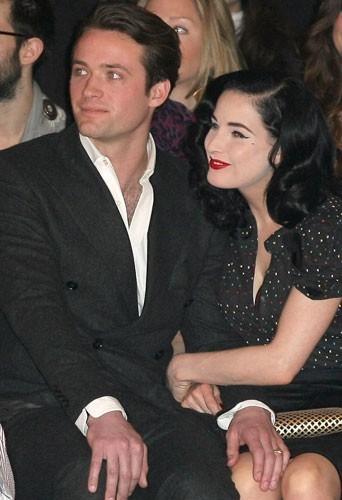 Dita Von Teese en couple avec le Français Louis-Marie de Castelbajac