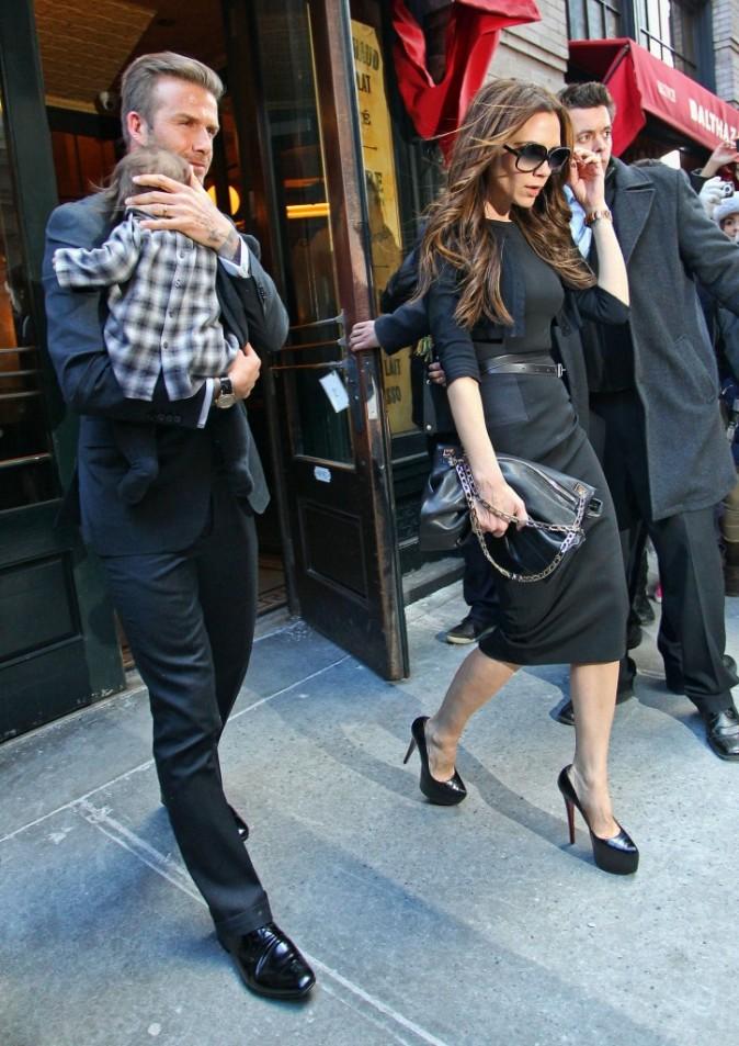 Les couples qui vivent avec :  David et Victoria Beckham
