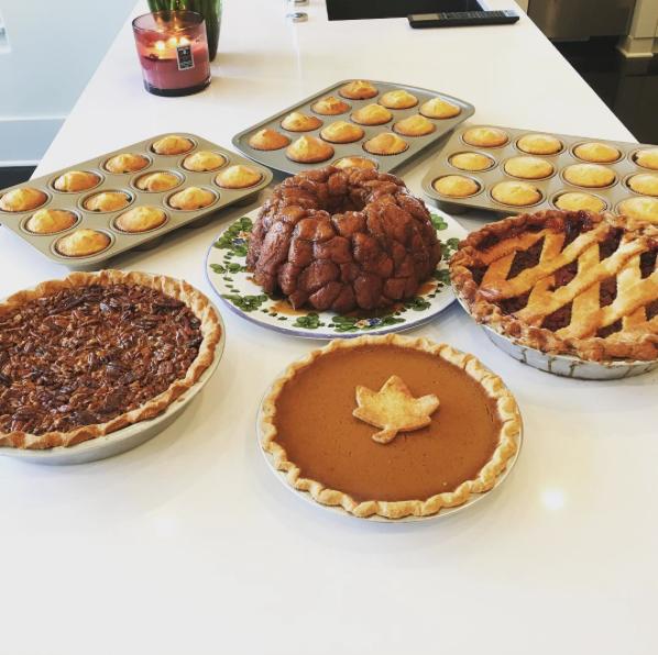 Le Thanksgiving de la famille Kardashian
