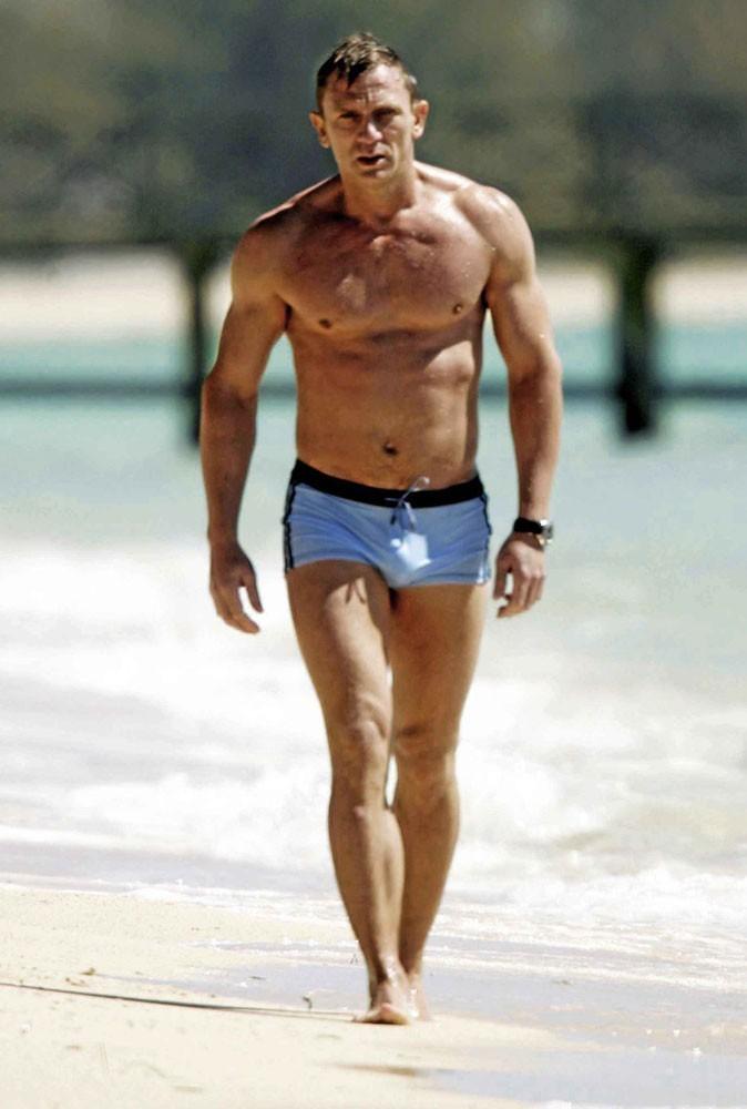 Daniel Craig : plus beau en maillot de bain !