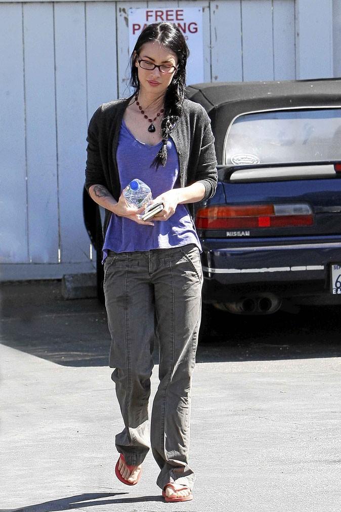 Megan Fox : bien foutue, mais mal sapée...