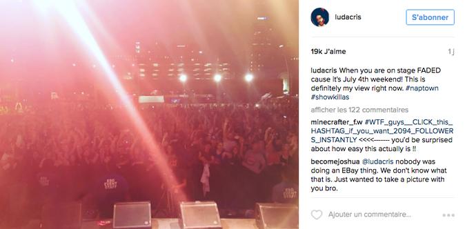 "Ludacris souhaite un bon ""Fourth of July"""