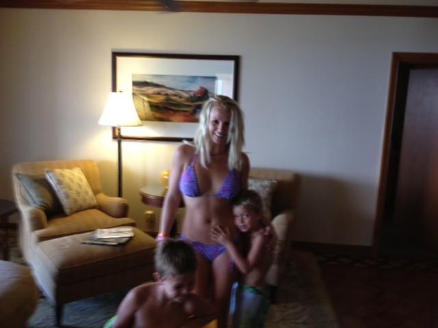 Britney et ses garçons