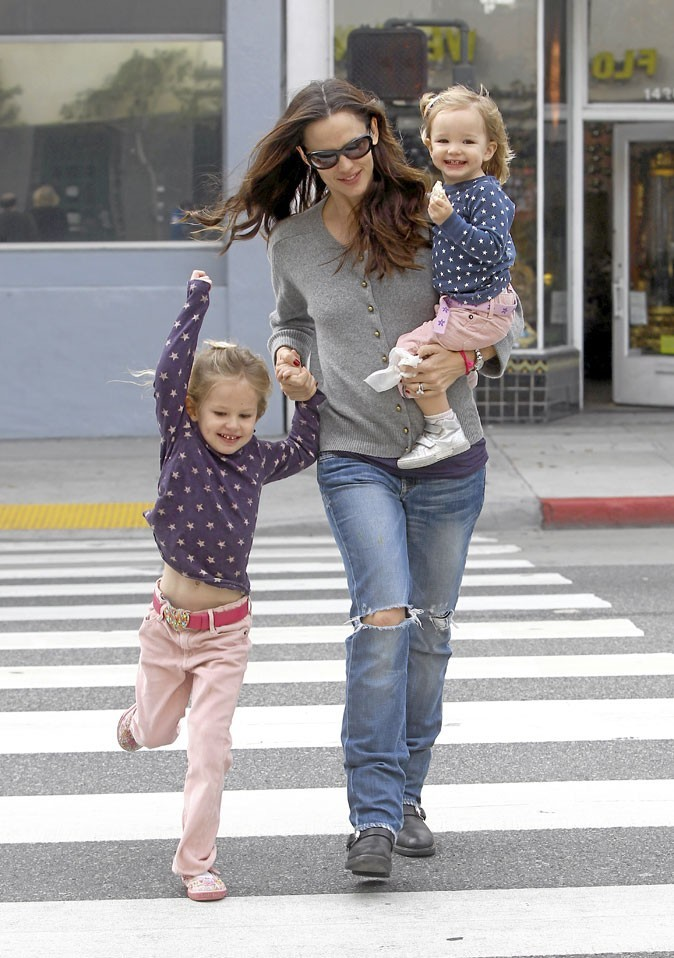 Fête des mères : Jennifer Garner est une maman poule !