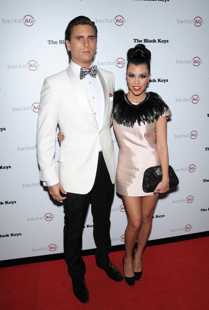 Différences de taille au sein du couple Kourtney Kardashian et Scott Disick : 28 cm