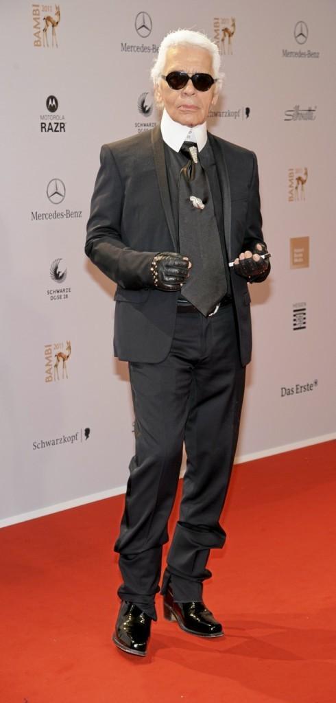 Karl Lagerfeld : niveau bac !