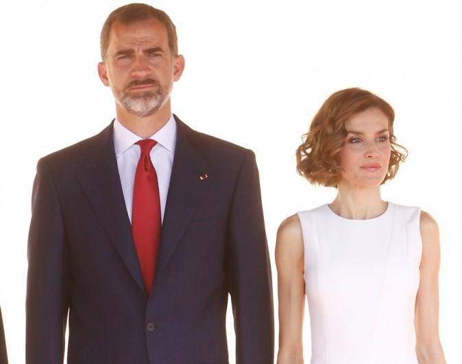 Letizia d'Espagne, éblouissante de beauté au bras de son royal mari !
