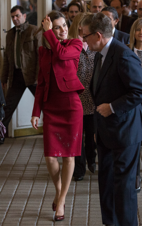Photos : Letizia d'Espagne : le secret de sa jolie silhouette !