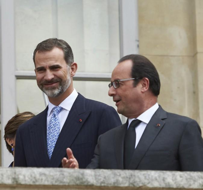 Felipe VI et François Hollande