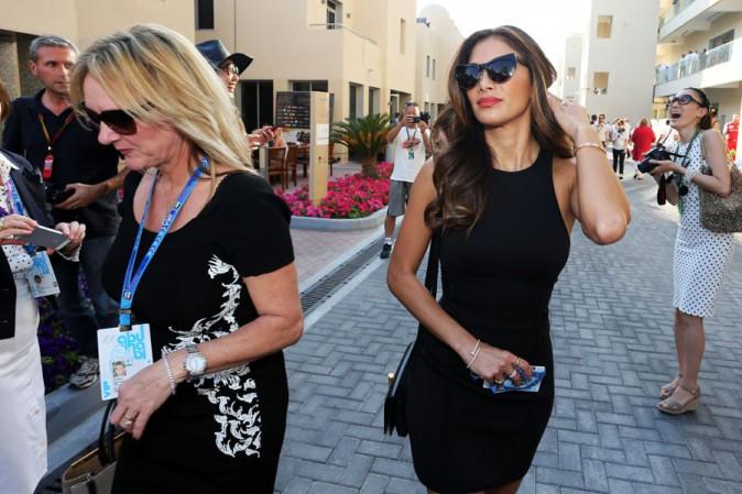 Nicole Scherzinger à Abu Dhabi le 23 novembre 2014