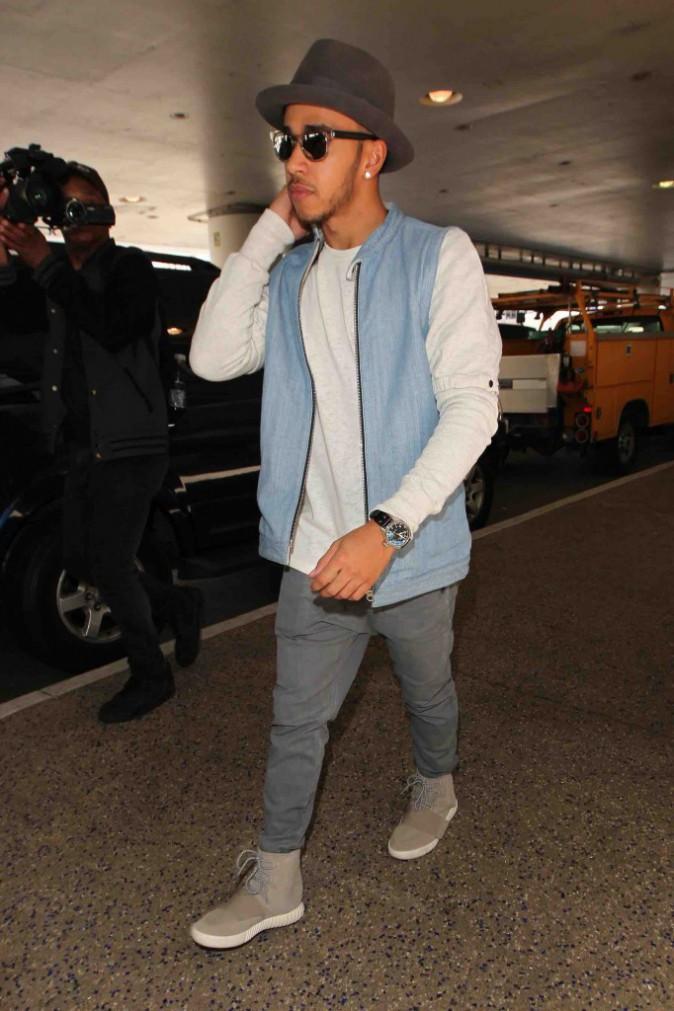 Lewis Hamilton : super looké, en partie grâce à Kanye West !