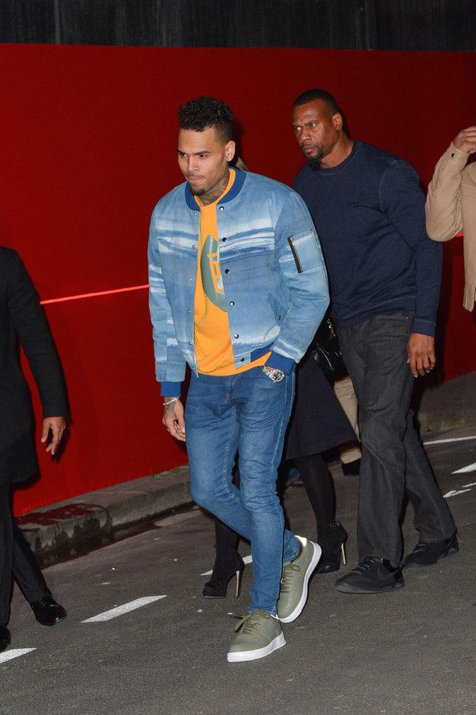 Chris Brown repart bredouille