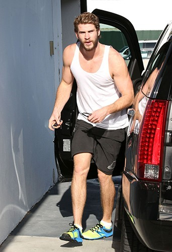 Liam Hemsworth à Los Angeles le 15 avril 2013