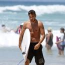 Liam Payne sur la Gold Coast, en Australie, le 21 octobre 2013
