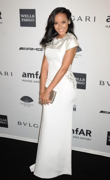 Selita Ebanks lors du gala de l'amfar à New York, le 5 février 2014.