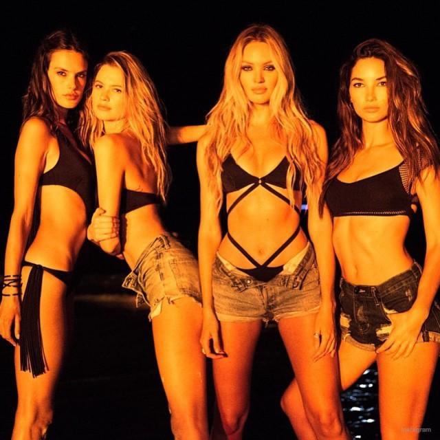 Photos : Lily Aldridge, Behati Prinsloo, Joan Small…Les tops Victoria's Secret nous réservent du lourd pour l'été !