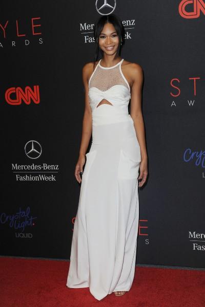 Chanel Iman lors de la soirée des Style Awards 2013 à New York, le 4 septembre 2013.