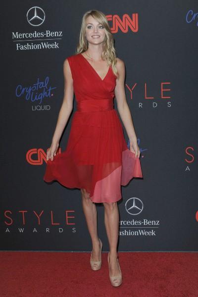 Lindsay Ellingson lors de la soirée des Style Awards 2013 à New York, le 4 septembre 2013.