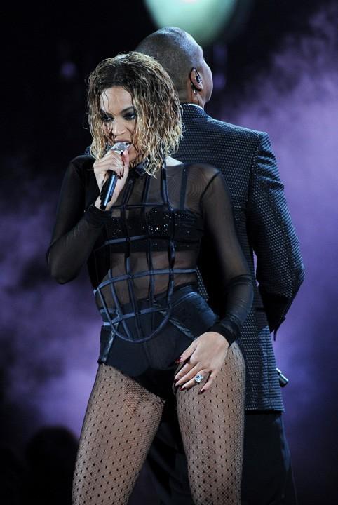 Beyoncé et Jay-Z lors de la dernière cérémonie des Grammy Awards