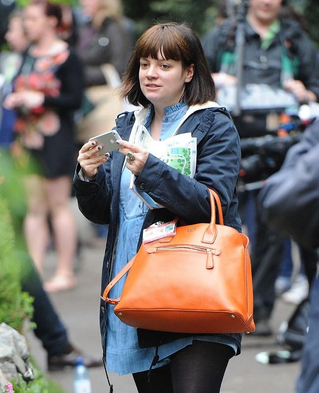 Lily Allen le 20 mai 2013 à Londres