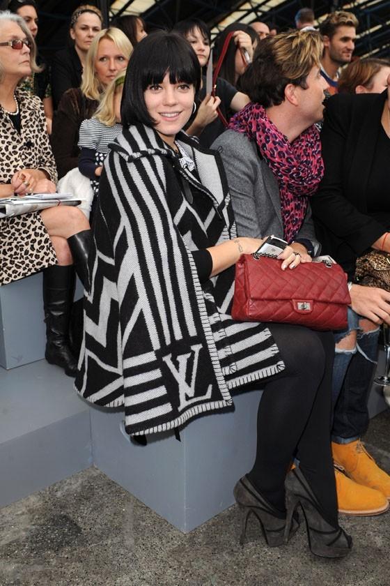 Heureuse d'apprendre à ses fans qu'elle était enceinte, Lily Allen rayonnait en septembre dernier...