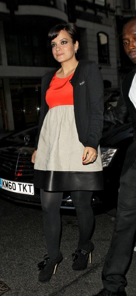 Un look parfait...pas étonnant qu'elle se lance dans la création de vêtements !