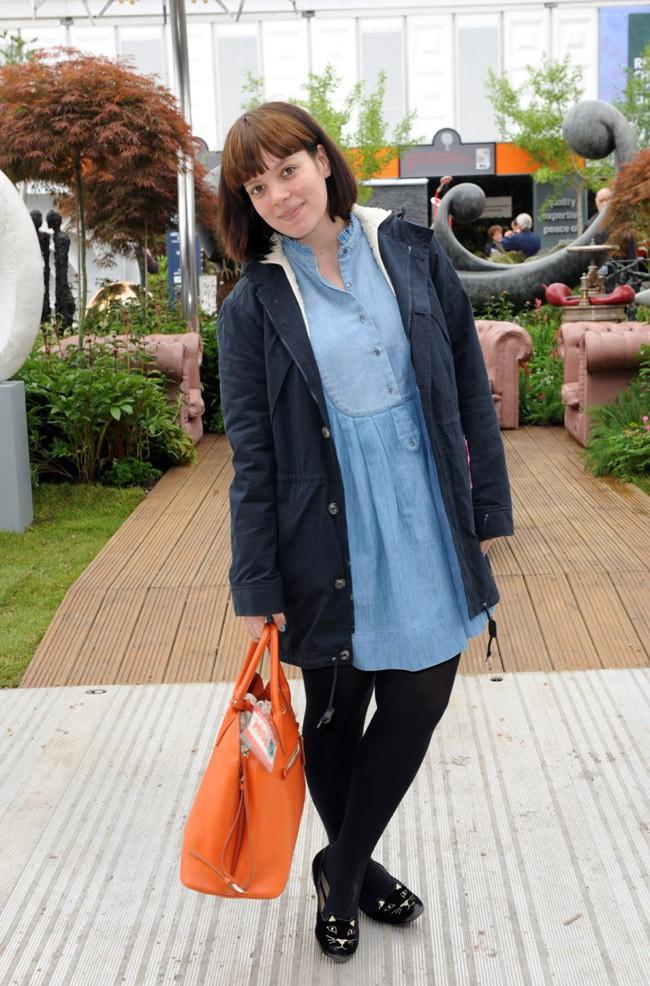 Lily Allen en mai 2013
