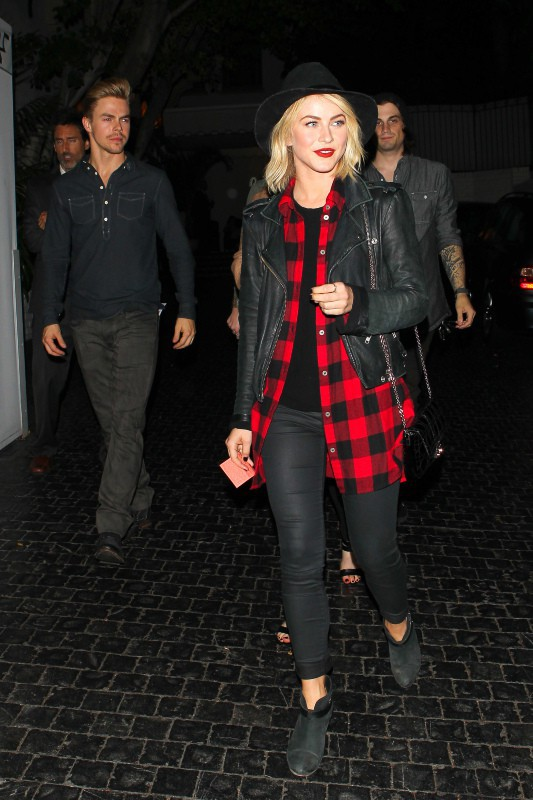 Julianne Hough lors de l'after-party du concert de 30 Seconds to Mars, le 13 octobre 2013.