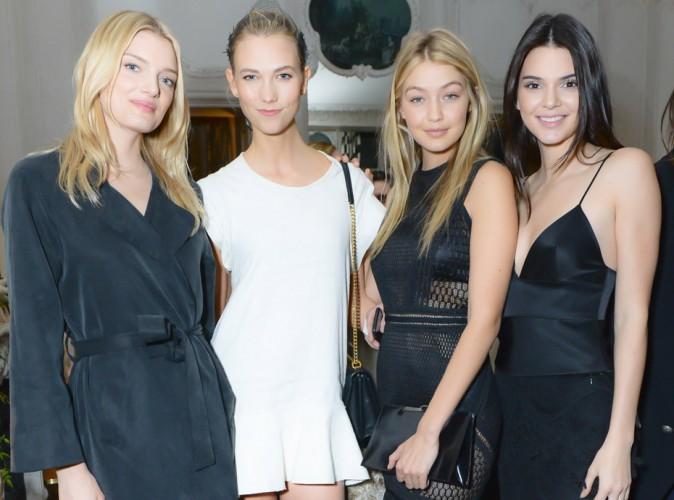 Lily Donaldson, Karlie Kloss, Gigi Hadid, Kendall Jenner : déesses des nuits parisiennes !