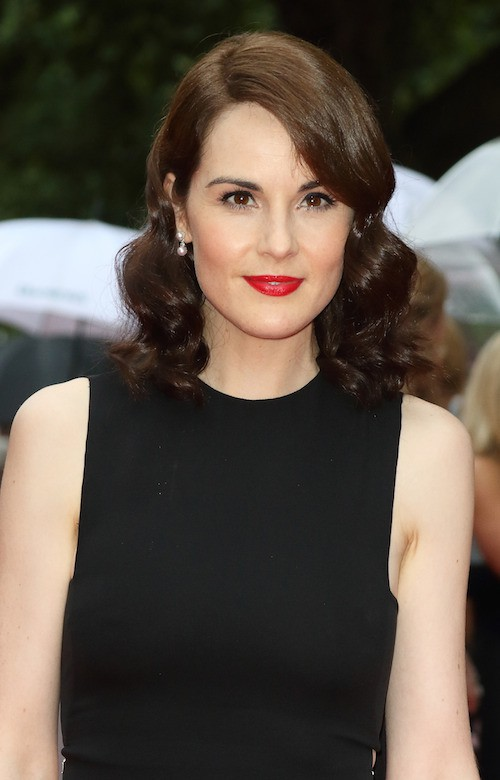 Michelle Dockery à la soirée Downton Abbey, à Londres, le 11 août 2015 !