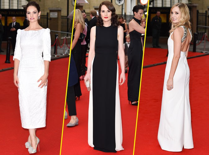 Photos : Lily James, Michelle Dockery, Joanne Froggatt : les bombes de Downton Abbey réunies !