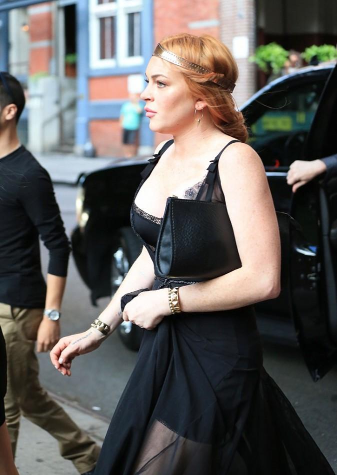 Lindsay Lohan a repris du poids comme elle le souhaitait